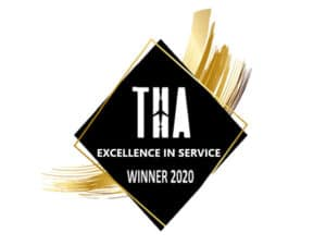 Travel and Hospitality Awards Winner - Transparent_2020 Excellence 20 in 20 Service