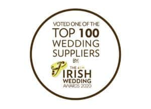 Top 100 wedding suppliers by the Irish Wedding Awards